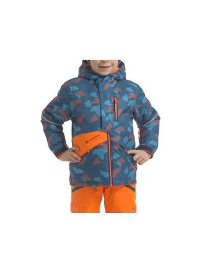 Otroška smučarska jakna Alpine Pro Agosto - modra