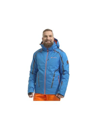 Alpine Pro MIKAER moška smučarska jakna - modra