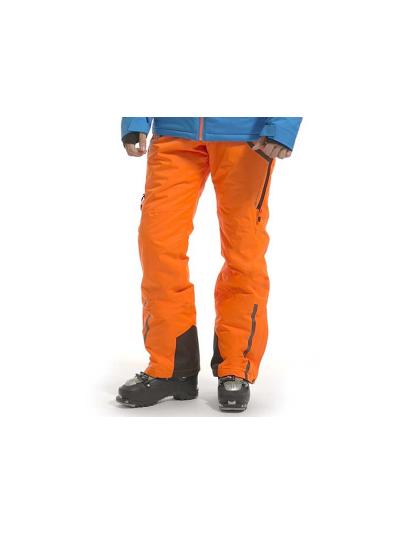 Moške smučarske hlače Alpine Pro Nudd3  - oranžne