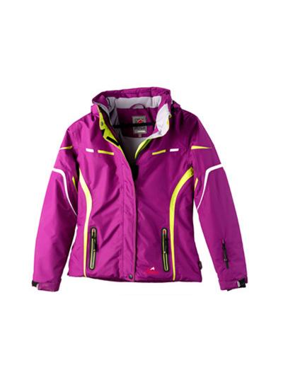 Otroška smučarska jakna American Project CONNY - vijolična