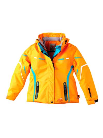 Otroška smučarska jakna American Project CONNY - oranžna