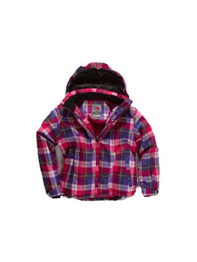 Otroška smučarska jakna American Project LUNA roza