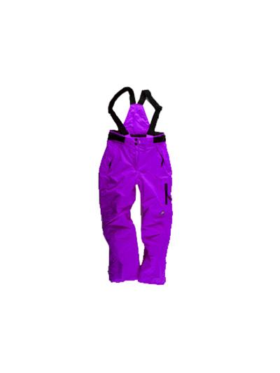 Dekliške otroške smučarske hlače American Project Penny - vijolične