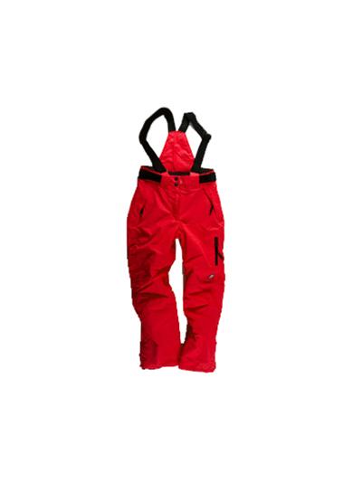 Otroške smučarske hlače American Project BOB - rdeče
