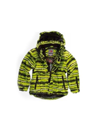 Otroška smučarska jakna American Project TOBY - fluo rumena