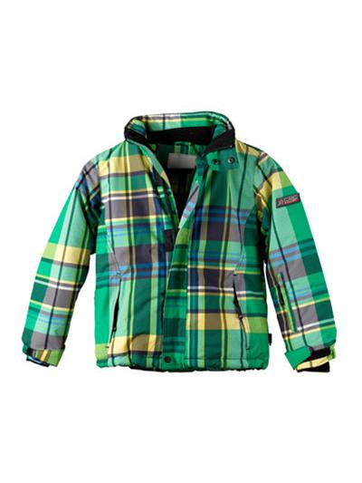Otroška smučarska jakna American Project JACK - zelena