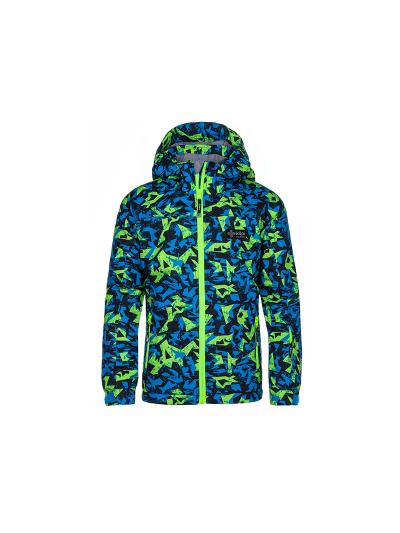 Otroška smučarska jakna Kilpi ATENI - modra/zelena