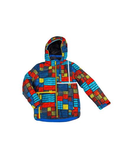 Otroška smučarska jakna Biting BOB - print