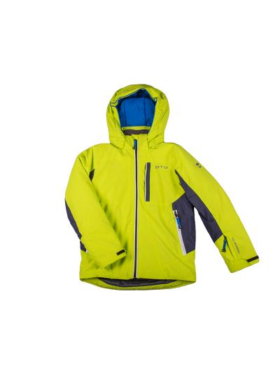 BITING CARL otroška smučarska jakna - limeta zelena