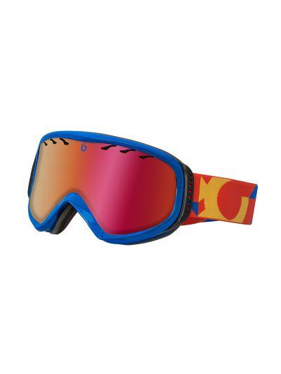 Smučarska očala Bluetribe Biggy - modro/rdeča