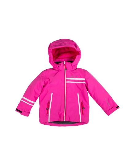 Otroška baby smučarska jakna Biting TITTI - roza