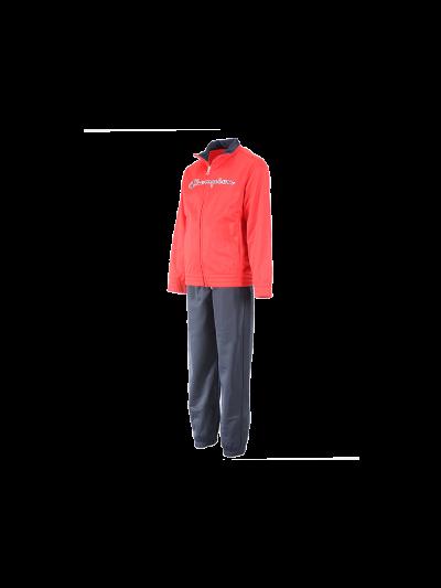 Otroški komplet Champion® 304939 jopa, dolge hlače - rdeč