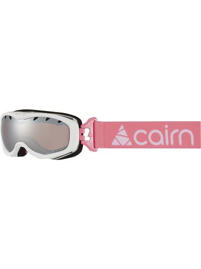 Otroška smučarska očala Cairn RUSH SPX3 - bela/roza