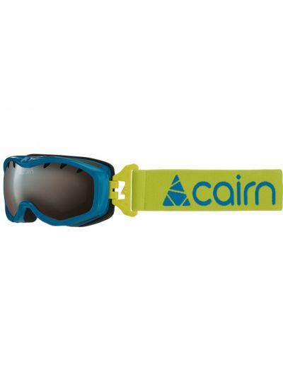 Smučarska očala otroška Cairn RUSH - azur - fluo