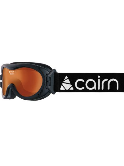 Smučarska otroška/mladinska očala CAIRN SMASH - črna