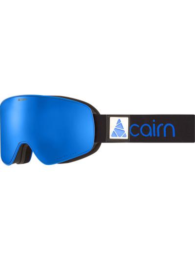 Smučarska očala Cairn POLARIS Polarized - črne/modre