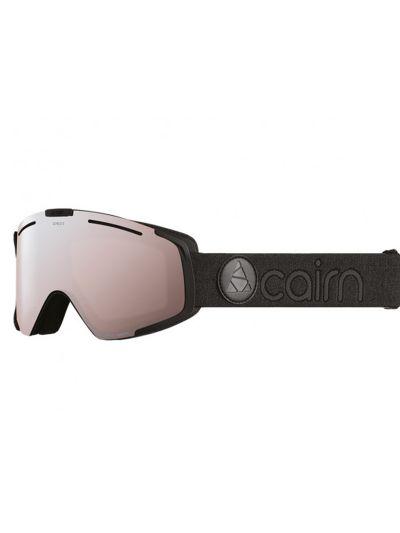 Smučarska očala CAIRN MERCURY SPX3 mat črna srebrna