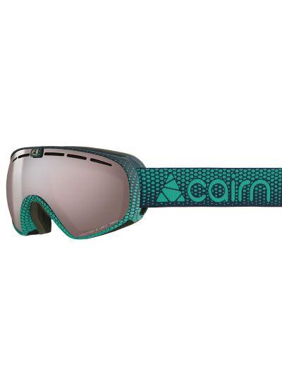 Smučarska očala CAIRN SPOT OTG Midnight scale - zelena