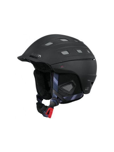 Smučarska čelada CAIRN I-BRID RESCUE mat črna