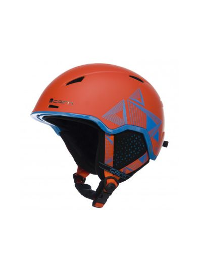 Smučarska čelada CAIRN INFINITI oranžna-modra
