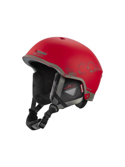 Smučarska čelada Cairn CENTAURE RESCUE - rdeča