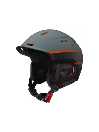 Smučarska čelada Cairn XPLORER RESCUE - Verdigris oranžna
