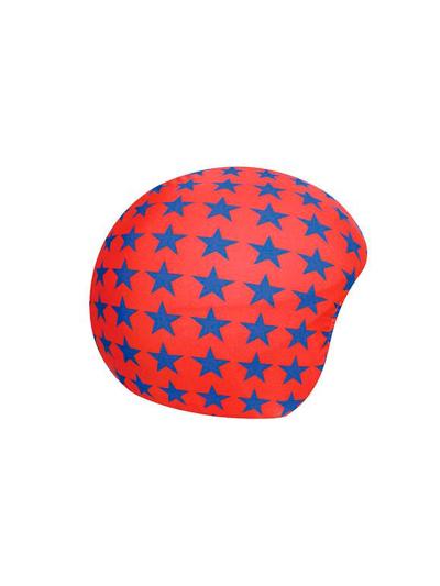COOLCASC dodatek za čelado - rdeče zvezde