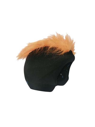 COOLCASC dodatek za čelado - Oranžni Mohawk