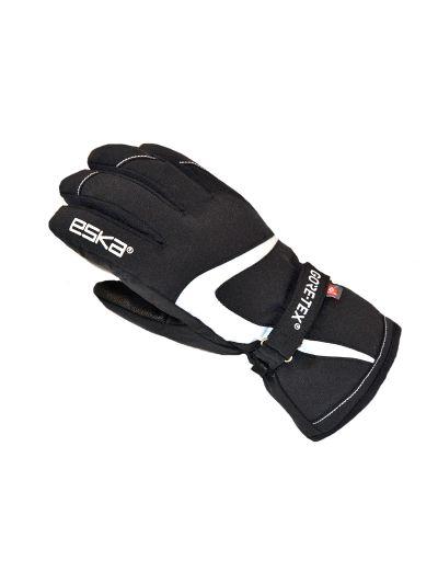 Ženske smučarske rokavice ESKA GTX - črno/bele