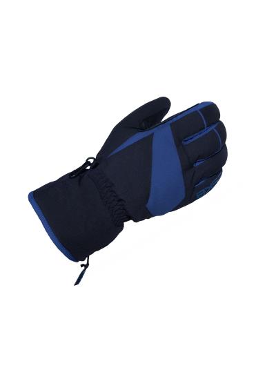 ESKA MYKEL zimske rokavice - črne/modre