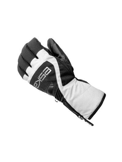 Smučarske rokavice ESKA Pomo Erw SKI črno/bele