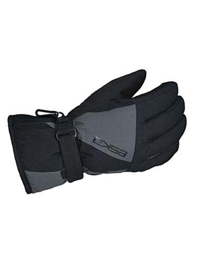 Zimske otroške rokavice Eska LEXOR - črne/sive