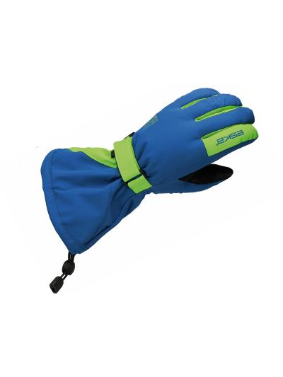 Otroške smučarske rokavice ESKA LINUX Shield - modre/zelene