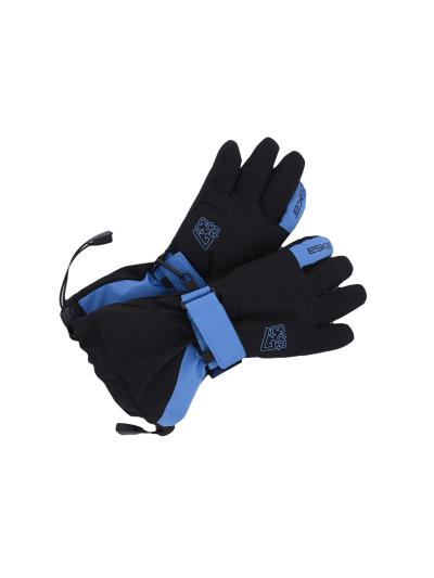 Otroške smučarske rokavice ESKA LINUX Shield - črne/modre