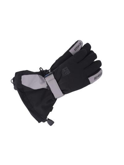 Otroške smučarske rokavice ESKA LINUX Shield - črne/srebrne