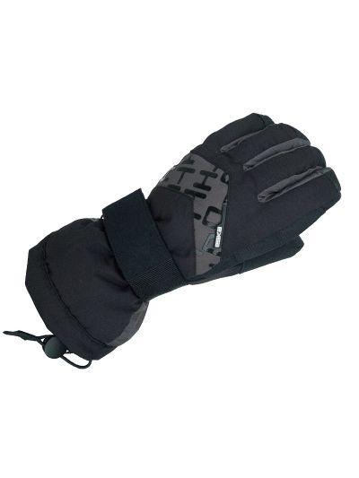 Zimske snowboard rokavice Eska PAX črno sive