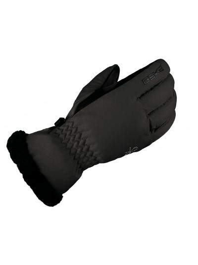 Ženske zimske smučarske rokavice ESKA COCOLELLA - črne
