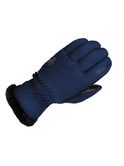 Ženske zimske smučarske rokavice ESKA COCOLELLA - navy
