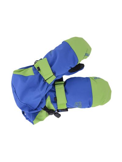 Otroške zimske rokavice ESKA PINGU - modre/zelene