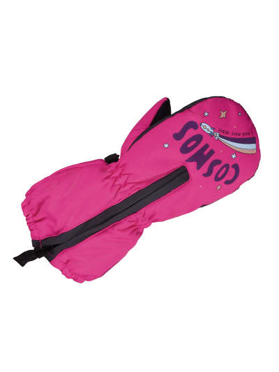 Zimske baby rokavice ESKA BANG - neon roza