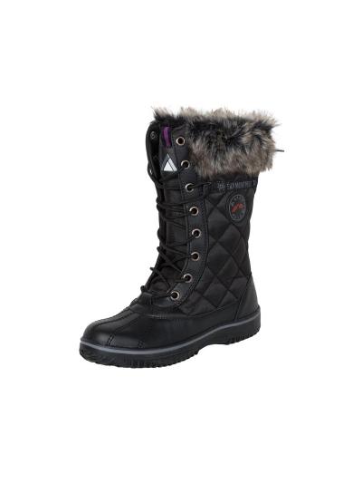 LHOTSE 8516m Forez ženski vodoodporni zimski čevlji - črni