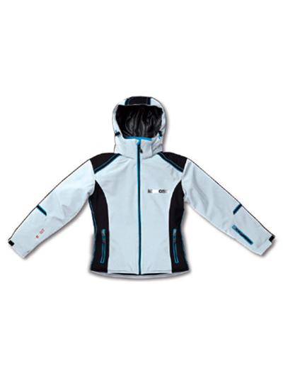 Ženska smučarska jakna MCROSS DS55 - bela