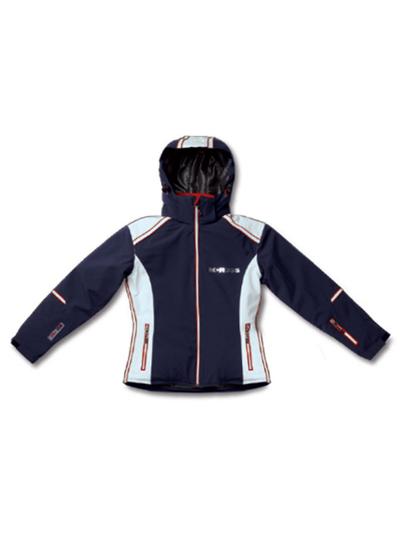 Ženska smučarska jakna MCROSS DS55 - temno modra/bela