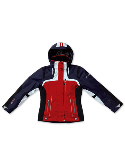 Ženska smučarska jakna MCROSS DS57 - rdeča