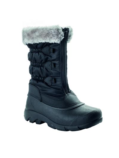 LHOTSE 8516m Golica ženski vodoodporni zimski čevlji - črni