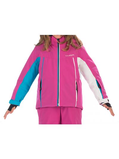 Otroška smučarska jakna HYRA Abetone - roza