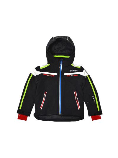Otroška smučarska jakna HYRA Buffalo Universal - črna/limeta