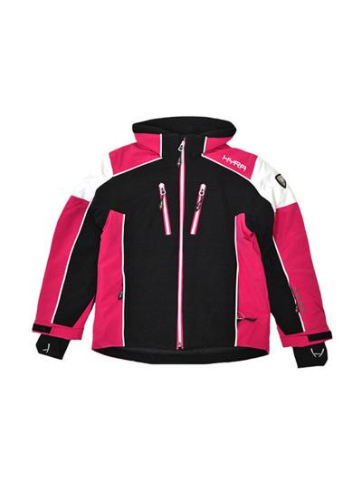 Otroška smučarska jakna HYRA Coira Universal N - črna/roza