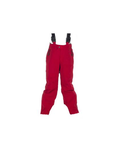 Otroške smučarske hlače HYRA Easy - rdeče