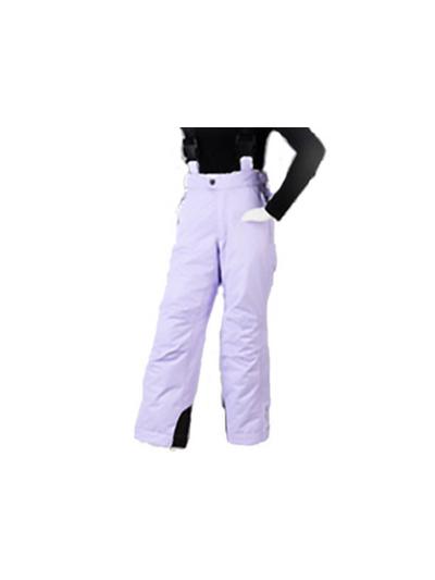 Otroške smučarske hlače HYRA Easy s/vijolične